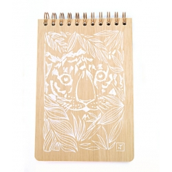 EYES OF TIGER BLANC - Carnet A6