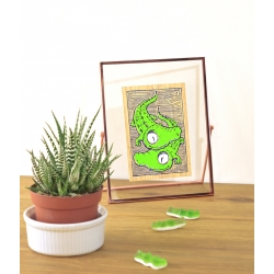 CROCOS EN DUO - Carte A6